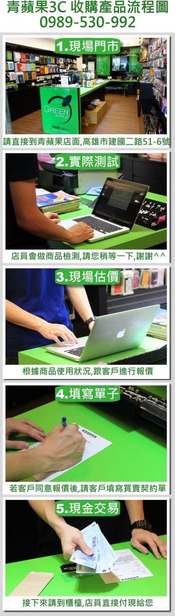 青蘋果3C - 2014 - 收購連續圖